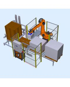 Autofeed Robotic Palletising Cell