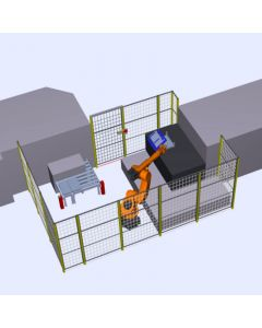 Medium Robotic Handling or Pick and Place System