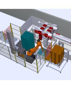 Robotic Machine Tending and Assembly Production Line