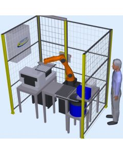 Small Robotic Handling or Pick and Place System