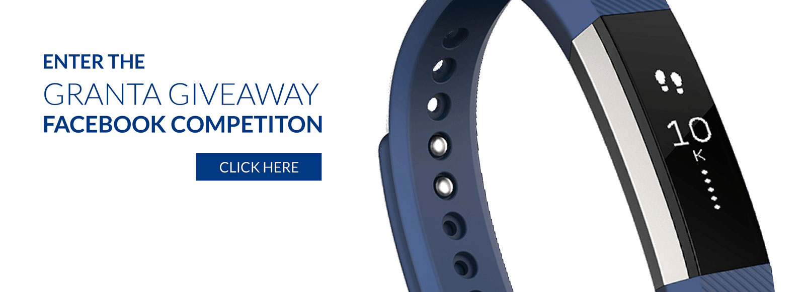 Click here to enter the Facebook Fitbit Competition