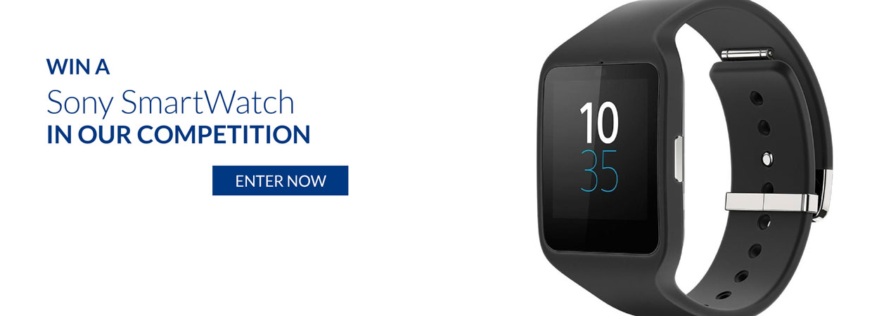 Click here to enter the SONY SmartWatch Competition