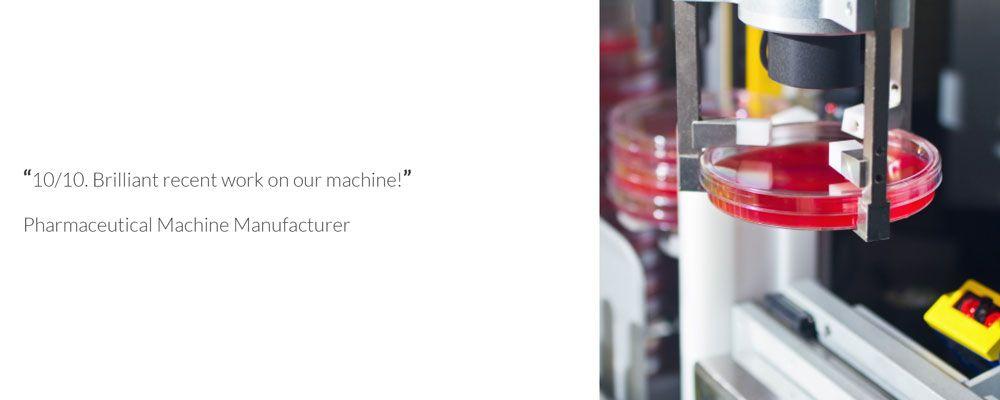 Bespoke Machinery Testimonial